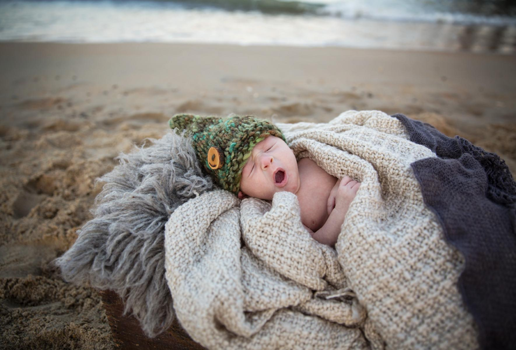 Newborn photography in Outer Banks NC